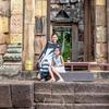 ムアンタム遺跡(Prasat Mueang Tam)とても可愛らしく渋い遺跡です♡