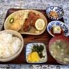 南下浦町金田の「真砂」でマグロホッペ(フライ)定食