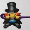 "Brook x Cool Pikachu. ""Hanauta Sancho Yahazu Giri"""
