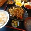 神田【季節料理 竹仙】セリと白エビかき揚げ定食 ¥1000