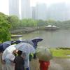 雨中の浜離宮庭園、雨上がりの東京港クルーズ