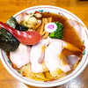 とら食堂松戸分店@松飛台 焼豚ワンタン麺(しょうが醤油味)