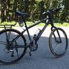 自転車のタイヤを交換した。