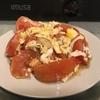 卵とトマトのオイスターソース+めんつゆ炒め