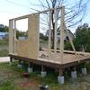 庭に小屋を作ってみた その16 2015.10.10
