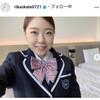 【フィギュア】紀平梨花、N高卒業で制服ショットを公開「めっちゃ可愛い」「似合いすぎる」「新鮮」