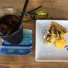 musubiカフェで「おいものタルト」