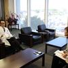 上林弘和院長が医療業界紙「東海医事新報」の取材を受けました