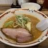 狼スープ 『味噌らーめん麺半分 半ライス』