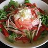 キッチンの残り物ランチ~クリーミーな麺つゆが美味しいサラダ豆乳そうめんレシピ
