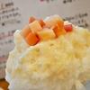 荻窪の「ねいろ屋」で酒かすとりんご(春泥、ピンクレディ)、ピスタチオミルクに女峰いちご。