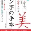 美しい書き文字、常用漢字、楷書行書2,136字収録したハンドブック