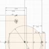 パラメトリックモデリング7~丁番の作り方