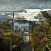 漁港の朝 福岡県宗像市鐘崎