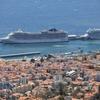【ポルトガル・フンシャル港】マデイラ諸島最大の島、マデイラ島の美しい港