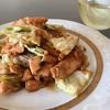 【キッチンラボ】 サーモンと春キャベツの味噌炒め