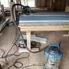 キッチンエリアの断熱材の施工