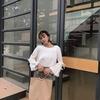 リボンとフレア袖が可愛い長袖トップス★