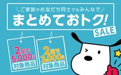 【告知】シュープラザ冬のセール情報!【まとめ買い】