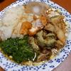 幸運な病のレシピ( 1482 )昼:血糖値の上がらない素麺、モロヘイヤ、大根おろし、朝の天ぷら