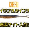 【KAESU】人気スティックベイトの新サイズ「ISANA 3.8インチ」通販サイト入荷!
