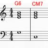 <不定調性論用語/概念紹介62>G6→CM7は解決するのか?