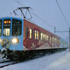 近江鉄道 雪の記録(2020-21) <1> 12/17・19