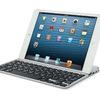 ロジクール ウルトラスリムキーボードミニTM715が安い Retina iPad mini対応Bluetoothキーボードカバー
