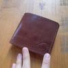 スキモレザーの小さいお財布。