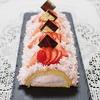 苺のムースロールケーキのレシピ
