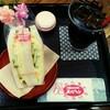 【メルヘン】立川駅ナカでチーズエッグのサンドイッチ!