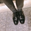 昨日の革靴 クロケットアンドジョーンズ