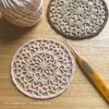 編み図|丸いドイリーを丸く編むコツ