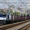 4月29日撮影 東海道線 平塚~大磯間 貨物列車撮影 3075ㇾ 2079ㇾ
