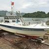 NEW魚探の設置&船底ぬりぬり🎵 【  2日間の遠征でした😙 】