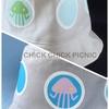 「謎のUFO型ハット(青・ピンク)」52cm販売開始!