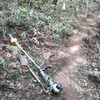 標高1150m付近登山道整備(2)