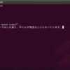 Ubuntu11.04の端末にバックスラッシュを表示する方法