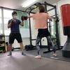 中崎町のSuitable☆30分でキックボクシング+筋トレ