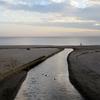 秋の浜 幸多かれと 砂に問う・・・っていうか、風邪ひくなよ