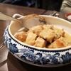 【金沢 ジョージア料理 】「シュクメルリ(鶏のニンニクとサワークリーム煮)」「アンキモのテリーヌ 金沢春菊のサラダ添え」Bistro pas a pas (ビストロ パザパ)