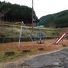 奈良県桜井市の山村、竜谷集落と岩坂・狛集落