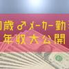 30歳一部上場メーカー勤務【年収公開】目指せ転職で年収アップ!!