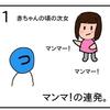 マンマの次女【4コマ漫画】