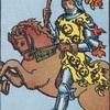 タロットカード:小アルカナ ワンドのナイト