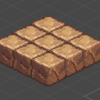 【Unity】2Dタイルマップ⑤ Isometricなマップ作成