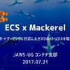 「JAWS-UG コンテナ支部 #9」で「ECS x Mackerel」をテーマに LT をした