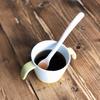 離乳食の記録|#06 はじめての麦茶、量やあげるタイミングは?スプーンの練習にも♪