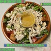 🚩外食日記(612)    宮崎ランチ   「あめいろCAFE」③より、【塩レモンチキンのサラダごはん】‼️