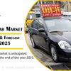 中国の中古車市場と車種別の量、予測2019-2025